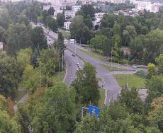 Křižovatka u soutoku Hradec Králové